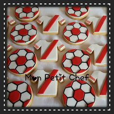 cookies river plate Soccer Birthday Parties, Galletas Cookies, Moana, Boyfriend Gifts, Cupcakes, Football, Party, Food, Puddings
