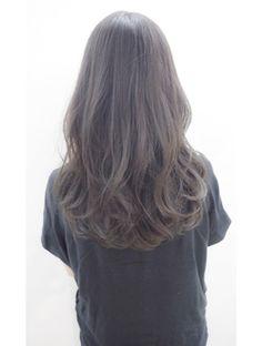 ashy brown hair