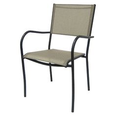 ThresholdTM Bryant Sling Stacking Chair Silver 36 Target
