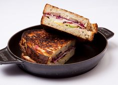 Alyn Williams turkey toastie recipe revels in the glory of Christmas dinner leftovers to produce the perfect Boxing Day snack Leftover Turkey Recipes, Leftovers Recipes, Alyn Williams, Croque Madame Recipe, Souffle Recipes, Pudding Recipes, Cranberry Cheese, Great British Chefs, Christmas Pudding