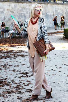 #glitteron How to wear the glitter trend.