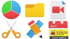 #Icon set - #Flatastic - Zizaza item for #free