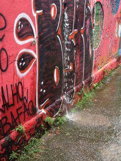 Referência de cor e textura - Graffite ? - Vila Madalena