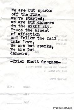 Typewriter Series #487 by Tyler Knott Gregson