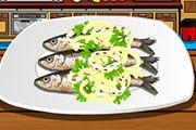 Make Grilled Sardines | Dress up games | Monster high games | Barbie games | Makeover games