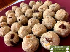 Best Milkmaid Rava Laddu Recipe without Coconut - Sri Lanka Rava Laddu Recipe, Sri Lankan Recipes, Roasted Nuts, Whole Milk Powder, Printable Recipe Cards, Tasty, Yummy Food, Clarified Butter, Toffee