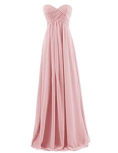 Dresstells® Sweetheart Bridesmaid Chiffon Prom Dresses Long Evening Gowns Blush Size 2 Dresstells http://www.amazon.com/dp/B00QLZOWGG/ref=cm_sw_r_pi_dp_mwgGvb1VRAECE