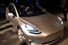 Tesla Model 3 ride front