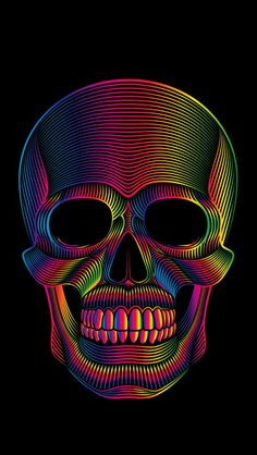 More at Mike Vands 😈 Wallpapers Games, Cute Wallpapers, Wallpapers Android, Skull Wallpaper, Black Wallpaper, Iphone Wallpaper, Badass Skulls, Rock Poster, Skull Art