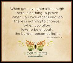 #pathlights #mypathlights #loveenough