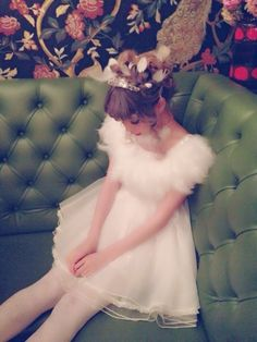 Swankiss dress. love fluffy! Maybe why I love sheep!