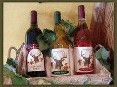 Buck Creek Winery's Rhubarb wine is a sweet wine that has that wonderful smooth rhubarb flavor that goes well with light foods.  Come in and try this latest Buck Creek wine.