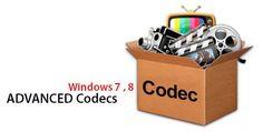 Advanced Codecs for Windows 7 / 8.1 / 10 Free Download