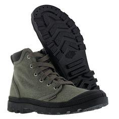 Palladium Men's Pampa Hi Cuff Chukka Boot 03086 090 Stonewash Metal Size 11.5 13