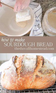 Easy Sourdough Bread Recipe, Sourdough Starter Discard Recipe, Bread Maker Recipes, Easy Bread Recipes, Starter Recipes, Cake Recipes, Printable Recipe, Keto, Bread Making
