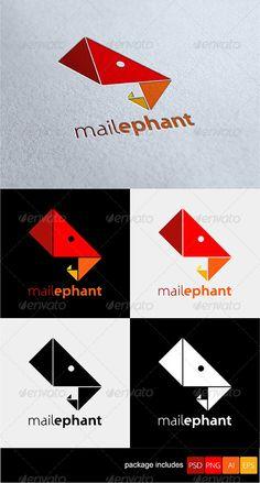 Mailephant - Animals Logo Templates