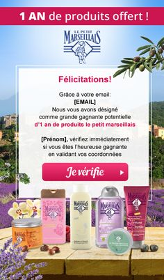 "French email contest ""Le petit Marseillais"" Landing, Web Design, French, Design Web, French People, French Language, France, Website Designs, Site Design"