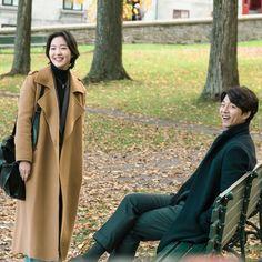 Drama Film, Drama Movies, Goblin 2016, Yoo Gong, Kim Go Eun, Yook Sungjae, Asian Fashion, Actors & Actresses, Duster Coat
