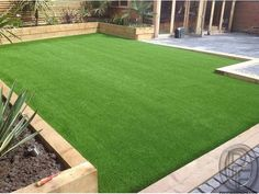 Looking for artificial grass Perth? Get best & affordable artificial grass installation in Perth. To know artificial grass cost, price or quote call now! Back Garden Design, Backyard Garden Design, Backyard Ideas, Desert Backyard, Garden Furniture Design, Backyard Playground, Natural Playground, Playground Ideas, Playground Design