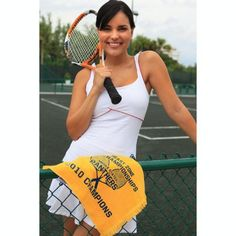 Custom Branded Fringed Soft Touch Sport Towel is made of 100% cotton terry velour, and is a fringed lightweight sport towel