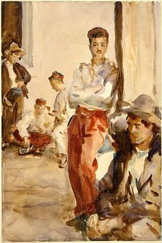 Spanish Soldiers - John Singer Sargent