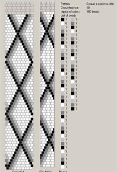 The photo – crochet pattern Bead Crochet Patterns, Bead Crochet Rope, Seed Bead Patterns, Beaded Jewelry Patterns, Beading Patterns, Beading Tutorials, Crochet Beaded Necklace, Crochet Beaded Bracelets, Beaded Crochet