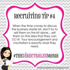 Recruiting Tip #4 www.senegence.com/TimelessEleganceByTara
