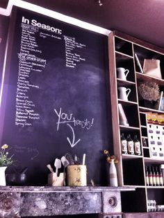 Youeni Provides: All fresh ingredients. All sourced locally. Enjoy a tailored coffee and food experience in a french-inspired atmosphere. Voted one of the best eats in Sydney in 2011 and located at South Dowling Street. Surry Hills, Chalkboard, Sydney, Inspiration, Mercedes Benz, Spain, Australia, French, Inspired