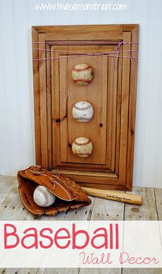 Best DIY Projects And Party Time Baseball Wall DecorBaseball