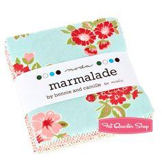 Flannel Marmalade Charm Pack Bonnie & Camille for Moda Fabrics - Fat Quarter Shop