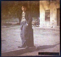 vintage everyday: Rare Colour Portraits of Charlie Chaplin, ca 1917-1918