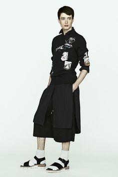 Miharayasuhiro Spring/Summer 2016 Menswear Collection | Male Fashion Trends