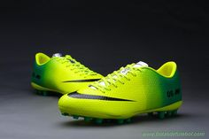 loja futebol Masculino Nike Mercurial Veloce AG Verde/Preto
