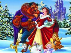 love belle in her christmas dress