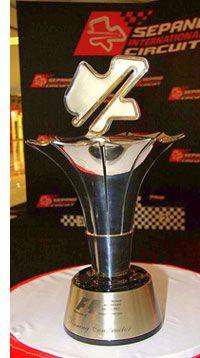 New Trophies For Malaysian GP - Formula 1 News - News - Sepang International Circuit