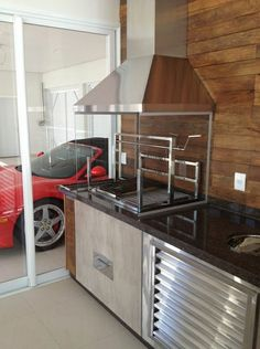 A área Gourmet do cliente Elizeu super prático e requintado, perfeito para receber os amigos e familiares.