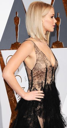 Why Jennifer Lawrence left fans disappointed at the Oscars last night...