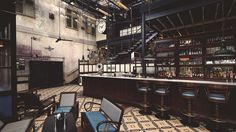 kings cross dishroom - located inside a Victorian warehouse 1870. Indian/Brunch/Cocktails
