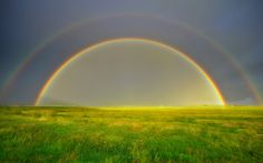 """Rainbow Photography: How many of you have heard the statement, """" You can find a pot of gold where the rainbow ends"""". There are so many fables based on these beautiful rainbows eventually Where The Rainbow Ends, Over The Rainbow, Rainbow Wallpaper, Nature Wallpaper, Wallpapers, Wallpaper Desktop, Scenery Wallpaper, Windows 10, World's Most Beautiful"""
