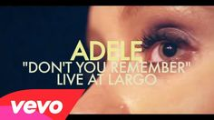 Adele - Don't You Remember (Live at Largo)  ..When was the last time you thought of me? Or have you completely erased me from your memory? I often think about where I went wrong the more I do, the less I know  But I know I have a fickle heart and a bitterness, And a wandering eye and a heaviness in my head  But don't you remember? Don't you remember? The reason you loved me before Baby, please remember me once more