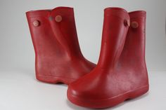 Red Rubber Boots - This is for those of us who grew up in the 50s and 60s.  Not much to keep your feet warm but we sure did like getting a new pair for Christmas.