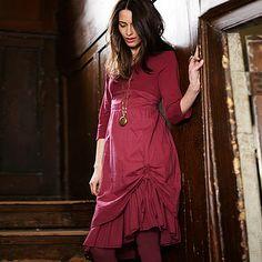 banshee dress by braintree eco fibre fashion Unique Outfits, Unique Fashion, Personalized Gifts, Unique Gifts, Cold Shoulder Dress, Fashion Dresses, Short Sleeve Dresses, Shirt Dress, Stylish