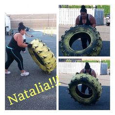 Natalia is about 2 weeks into her 6 month program at UFZ and she is KILLING it! We all know how hard these workouts are - no matter how long we have been doing them. Imagine how tough they are for beginners!?! There were a few times we were worried she was going to throw in the towel but she pulls herself together and finishes strong! This girl deserves your 'like' for her incredible perseverance and dedication. Don't give up Natalia! We are with you all the way! #fitness #bootcamp #tireflip
