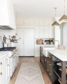 Boho Kitchen, Home Decor Kitchen, Diy Kitchen, Kitchen Interior, Rugs For Kitchen, Ikea Galley Kitchen, Kitchen Living, Kitchen Ideas, Kitchen Island
