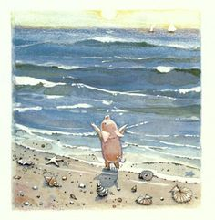 Puddle at the beach - Toot & Puddle, 1987