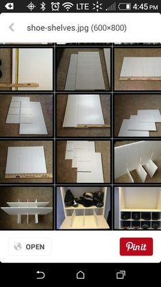 DIY Foam-board drawer dividers | Keeping House | Pinterest ...