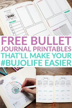 218 best bullet journal planner printables images in 2019 bullet