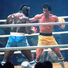 Rocky III - Publicity still of Sylvester Stallone & Mr. The image measures 3045 * 1999 pixels and was added on 21 October Rocky Series, Rocky Film, Rocky 3, Rocky Balboa, Rocky Stallone, Rocky Poster, Silvester Stallone, Mr T, Film Images