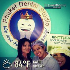 Led natural plus teeth whitening @ phuket dental studio