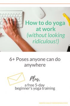 Want some simple ways to add more yoga to your workday? These movements, poses, and stretches to help you incorporate more movement and ease into your day whether you're sitting or standing (no mat required AND you don't even have to change your clothes). Learn Yoga, How To Start Yoga, Yoga Poses Names, Basic Yoga Poses, Corpse Pose, Stomach Muscles, Relieve Back Pain, Sitting Poses, Online Yoga